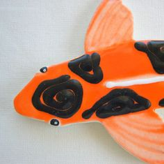 Koi  Fish Tile Ceramic mosaic Tiles for Mosaics Garden and  Art