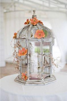 Bird Cage, Corbin Gurkin via Style Me Pretty | Flickr - Photo Sharing!
