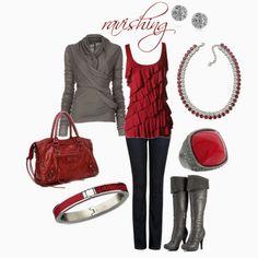 Ravishing Red.