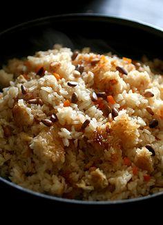 Scallop Rice