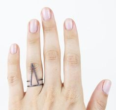 Silver Spike Ring www.mooreaseal.com