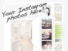 How to add instagram widget to your blog