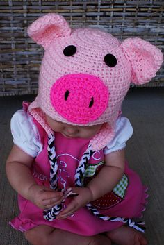 OMG...Lily would freak! She loves piggies!