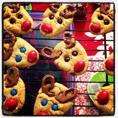 reindeer cookies, bake idea, food, sweet treats, baking, cooking with kids desserts, blog, cutest cooki, christmas kids cooking