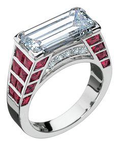 Diamond & ruby ring!