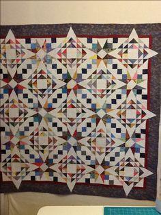Scrappy, lots of half sq. triangles!! 4.5