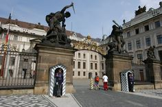 Entrance to the Prague Castle, will be seeing in a few weeks!