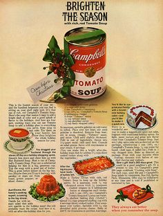 Campbells Tomato Soup for Xmas