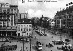 Bruxelles et belgique on pinterest brussels belgium for Boulevard du jardin botanique