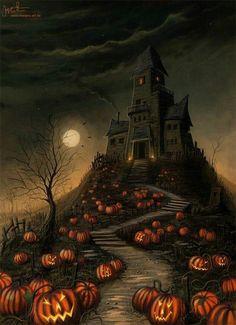 mansion, halloween house, halloween pumpkins, haunted houses, scary halloween, halloween pictures, halloween movies, halloween art, happy halloween