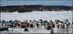 Ice Fishing Village