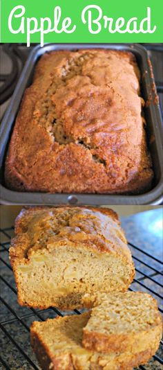 Apple Bread made wit