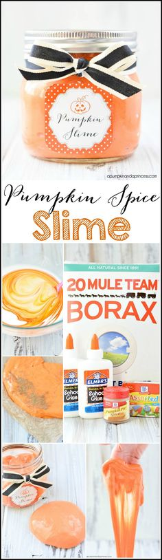Pumpkin Spice Slime Recipe