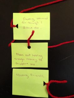 Therapeutic Activity: All Tied Up w/ Worry