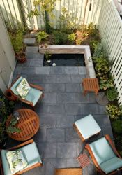 Small yard ideas--different things that can be done with narrow spaces