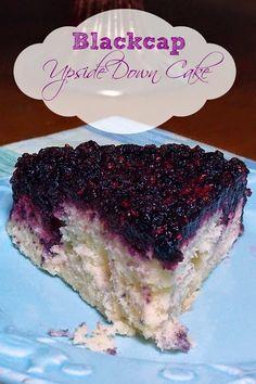 Blackcap Upside Down Cake #dessert #blackberry #blackcap