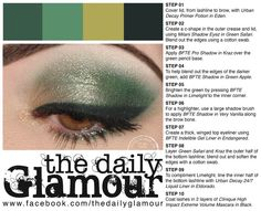 Try emerald eyes by The Daily Glamour.