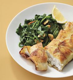 Potato-Wrapped Halibut with Saut