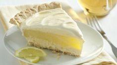 Lemon Layer Ice Cream Pie | Holidays