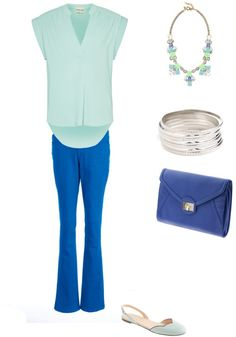 WTWW: What to Wear With Cobalt Blue Jeans
