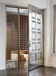 Apartment wine cellar