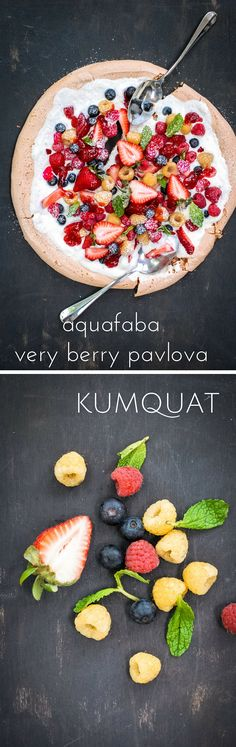 aquafaba very berry