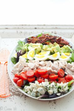 Cobb Salad via DeliciouslyOrganic.net