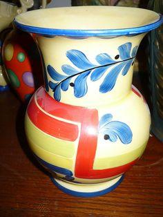 Czech Pottery Vase