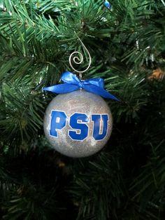 PSU  Penn State University Ornaments by BakintoshArts on Etsy, $6.00