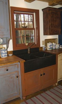 Love this soapstone sink