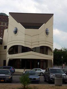crazi place, angri build, smile build, build monster, face everywher, build face, place face, buildings, funni face