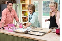 #HomeandFamilyTV #JessieJane of @Lilyshop with Jessie Jane makes #ValentinesDay #fortunecookies!