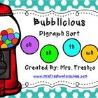 FREE-Digraph Sorting Activity (wh, th, sh, ch). idea, literaci, colors, phonic, free digraph activities, grade, bubblici, digraph sort, kindergarten