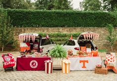 Football Tailgate with Tablevogue