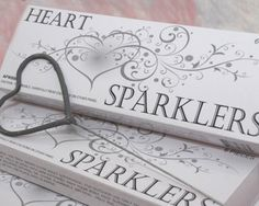 Heart shaped sparklers !