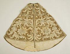 Cape Date: 17th century Culture: Spanish Medium: silk, linen