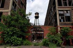 Packard Plant E Grand Blvd Detroit 6/08 by Detroit Liger, via Flickr