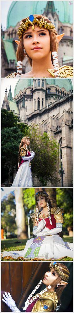 Zelda from Twilight Princess   http://laahmichelle.deviantart.com/gallery/41973240