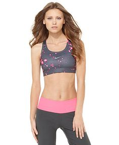 Nike Top, Printed Racerback Sports Bra