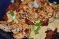 Shrimp & Grits.   #Food #Shrimp #Grits #Seafood