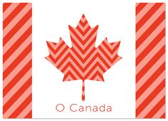 Cute FREE printable for Canada Day from It Works For Bobbi!: O Canada Free Printable!