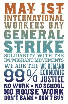 May Day Directory: Occupy General Strike In Over 115 Cities