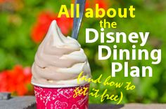 About the Disney Dining Plan lan