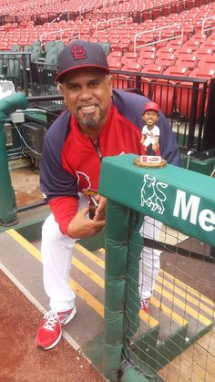 "On Saturday, September 20th don't miss your opportunity to add a Jose ""The Secret Weapon"" Oquendo bobblehead to your collection! 25,000 fans, ages 16 & older, entering with a ticket will receive this unique item."