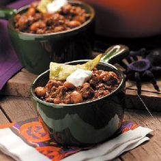 Truly Texan Chili Recipe