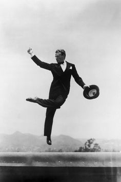 """Absorption in things other than self is the secret of a happy life.""  -                                            James Cagney"