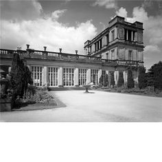 The conservatory and belvedere, the Temple Attic, designed by Jeffry Wyatville at at Chatsworth House. Pub Orig CL 25/07/1968.