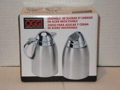 OGGI-2-Piece-Stainless-Steel-Sugar-and-Creamer-Set-New