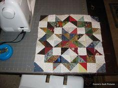 Love this scrappy quilt block