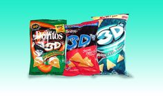 25 Foods You'll Never Be Able To Eat Again | the world just wasn't ready for 3D Doritos